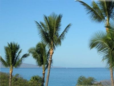 Gorgeous views await you once you enter our condo. Picture taken from lanai