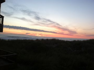 Pajaro Dunes condo rental - View from deck (off master bedroom and living room)