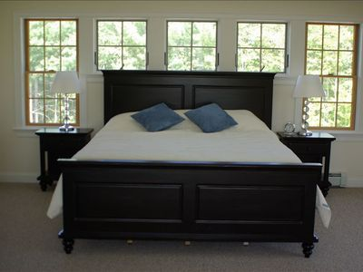 Bridgton house rental - VERY spacious master bedroom
