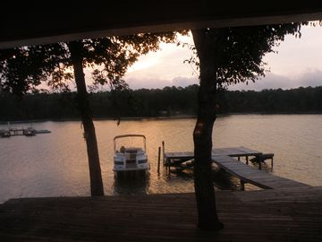 Lake Martin house rental - Enjoy the sunrises from the comfort of your own bed.