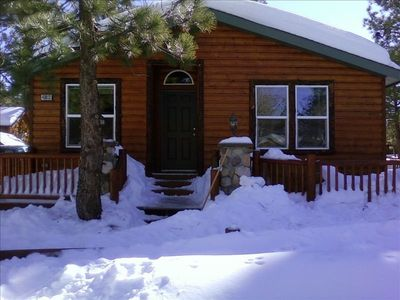 Whispering Pines Lodge is the perfect getaway for any time of year!