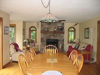 Middletown Springs house photo - dining family room