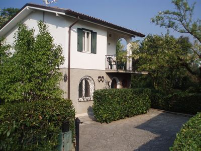 Apartment, 2-family house, in a quiet central location, 2-5 persons, pool