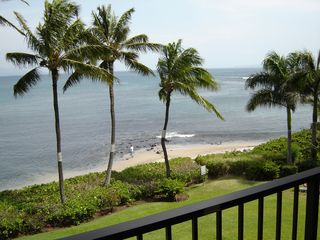 Maalaea condo photo - Small Beach in Front of Property