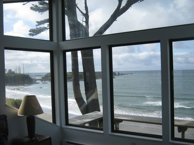 Coos Bay house rental - View from upper level bedroom
