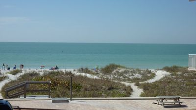 Indian Rocks Beach townhome rental - Beautiful View From Balcony of Gulf and Beach!!!