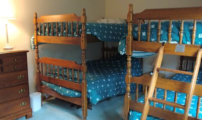 Bunk bed room - great for the kids!