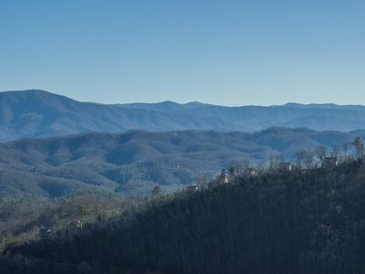 Pigeon Forge cabin rental - Long range ridge view