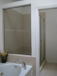 Master Bath with Jetted Tub & Separate Shower, Double Vanity, & Bidet