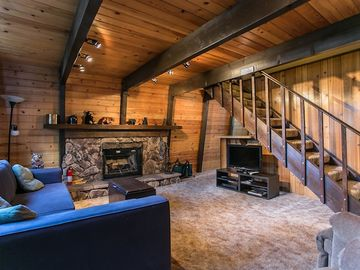 Sugarloaf cabin rental - You'll love curling up in this cozy cabin!