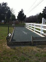 Southold house photo - Bocce Ball Court located at the nearby private beach