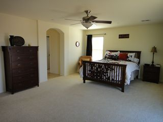Peoria house photo - Huge master bedroom suite on 2nd floor with plush queen bed and sofa sleeper