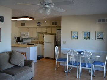 Port Clinton condo rental - All clean hard wood floors , new furniture & appliances