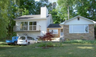 Beulah cottage rental - Cottage from the beach
