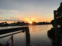 Waterfront on Bimini Bay 3 Bedroom/4 Full Bath with boat dock and heated pool