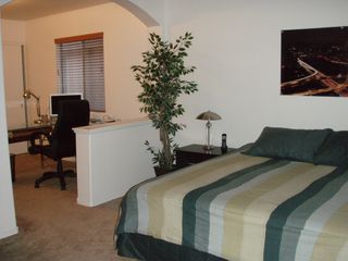 master bedroom and computer room - Las Vegas house vacation rental photo