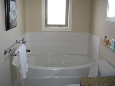 bathroom off master bedroom