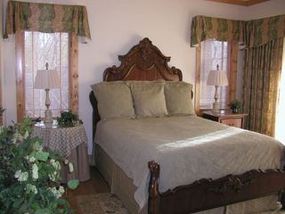 Highlands house photo - The Master Bedroom offers ultra plush pillow-top bedding