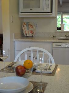 Eat in kitchen with breakfast bar.