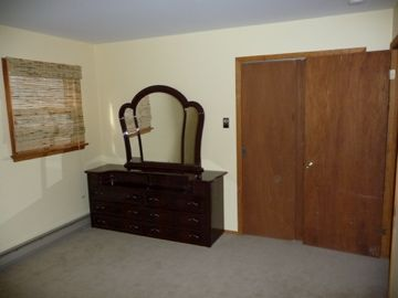 King Size Room dresser and closet