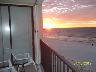Gulf Shores condo photo - View to the east ... sunrise from the balcony!