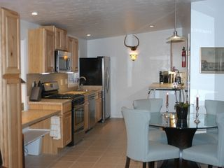 Carbondale apartment photo - Fully equipped kitchen, gas stove, dishwasher, high quality cookware.