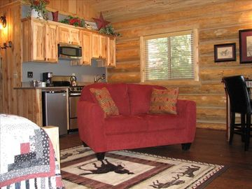 The Meadow View Cabin. The newest addition to the WPGR lodging family.