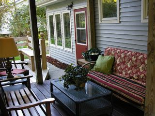 Saugatuck / Douglas house photo - enjoy one of the five decks, this one is covered.
