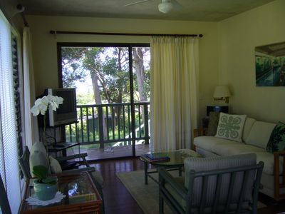 Pilialoha Cottage Living Room