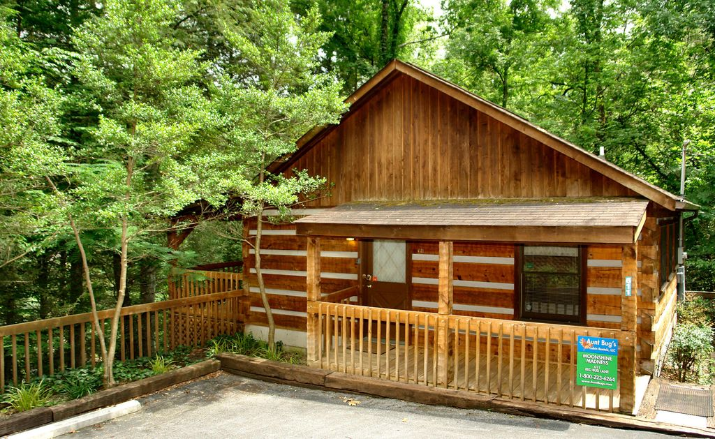Moonshine madness cabin is withing walking distance to for 1 bedroom pet friendly cabins in gatlinburg tn