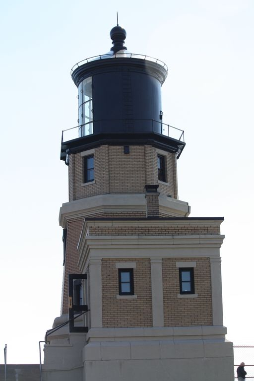Split Rock Lighthouse just 4 miles north of us on the walking/biking trail.