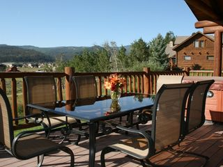 Big Sky cabin photo - High Altitude Property Management - Back Deck
