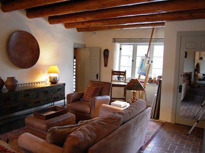 Santa Fe house rental - Studio/TV Room