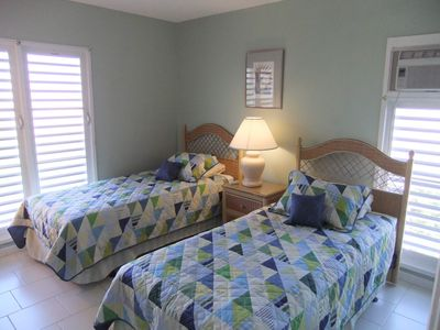 2nd Bedroom - Beds can be combined to accommodate another couple.
