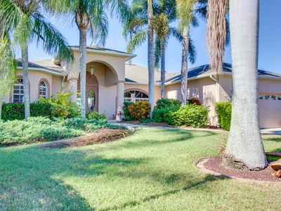 Florida waterfront home w/ private pool and jetted tub - short drive to beach!