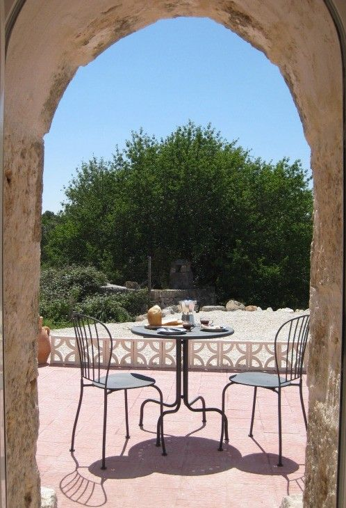 Have breakfast on the Patio
