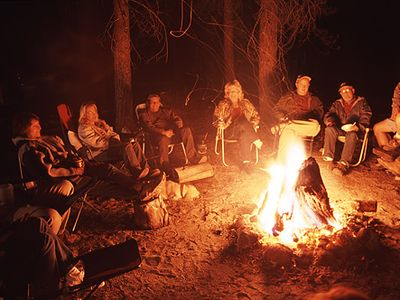 or... just simply sit around the evening campfires and make family memories...