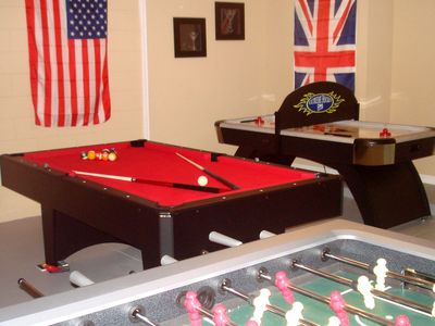 Games room - fun for all the family!