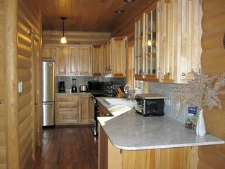 New Buffalo cabin photo - Full stocked kitchen (stainless appliances)
