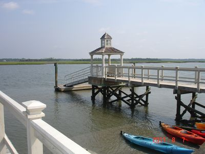 Kiawah River access
