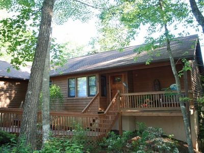 Welcome to Catawba Cabin in Lake Lure, North Carolina.