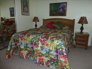 Kaanapali condo photo - Extremely comfortable pillow top Queen bed