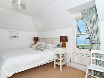 The Large Master Bedroom with sea views