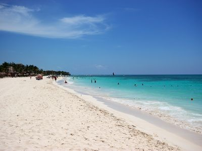 Welcome to the Mexican caribbean.