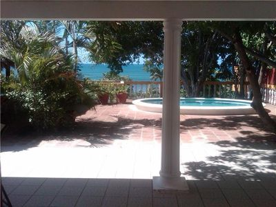 Amazing Pochomil beach house with a great view, pool, rancho, BBQ and privacy!!
