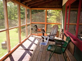 Claryville cabin photo - Front porch