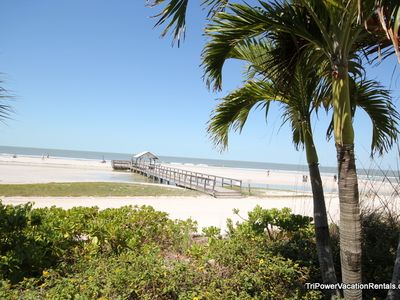 Beach/Gulf of Mexico is right at your door step.