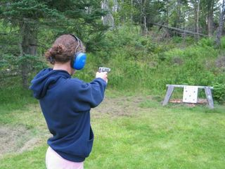 Port Clyde house photo - Target practice - we also offer skeet shooting
