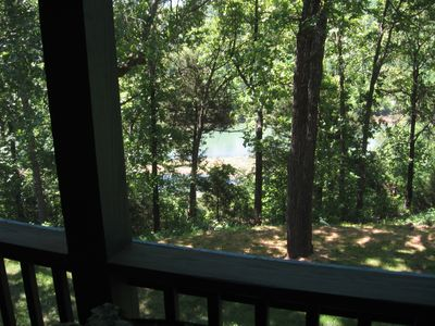 Relax and enjoy the view of the Ozarks ...