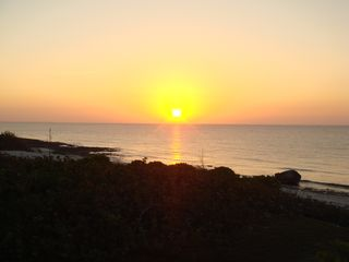Cayman Brac house photo - the perfect cayman brac sunset from your balcony or the beach